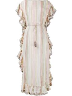 платье-кафтан 'Tropicale' в полоску Zimmermann