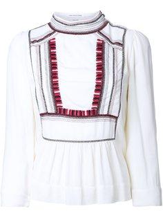 блузка с вышивкой 'Cerza'  Isabel Marant Étoile