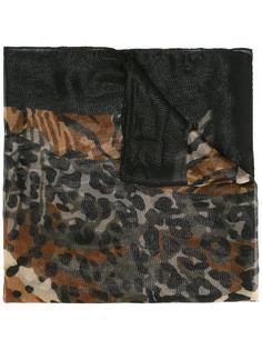 шарф с животным узором Salvatore Ferragamo