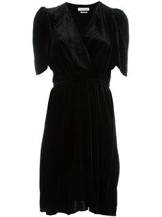 бархатное платье 'Lynna'  Isabel Marant Étoile