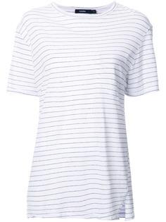 полосатая футболка Bassike