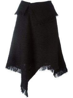 асимметричная юбка с драпировкой Isabel Marant