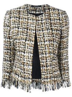 твидовый пиджак с застежкой на пуговицу Tagliatore