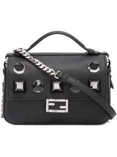 мини сумка через плечо 'Double Baguette' Fendi