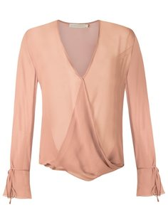 sheer shirt Giuliana Romanno