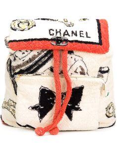 объемный рюкзак Chanel Vintage