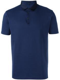 рубашка-поло с контрастным воротником Lanvin