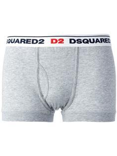 трусы-боксеры с логотипами Dsquared2