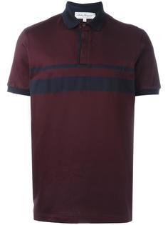 рубашка-поло с контрастной полосой на груди Salvatore Ferragamo