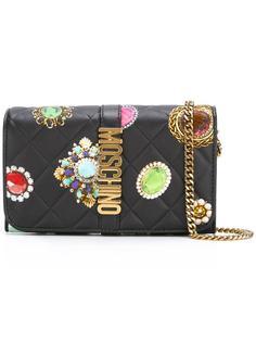 сумка-кошелек с узором в виде украшений Moschino