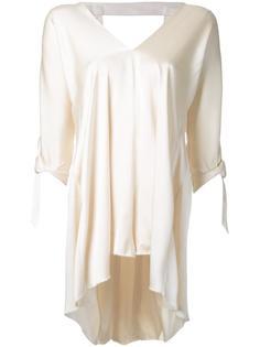 блузка с V-образным вырезом Kitx