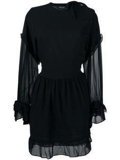 платье с прозрачными панелями Twin-Set
