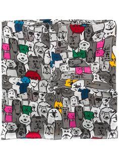 шарф с рисунком 'Cats & Dogs' Ultràchic