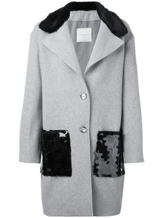 однобортное пальто Gaelle Bonheur