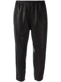 укороченные брюки с эластичным поясом Ilaria Nistri