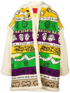 куртка свободного кроя с графическим принтом Jc De Castelbajac Vintage