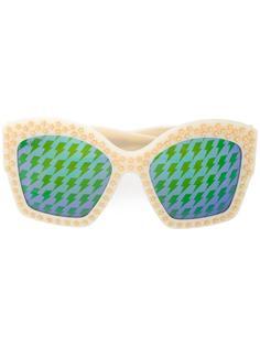 солнцезащитные очки со звездами Gucci Eyewear