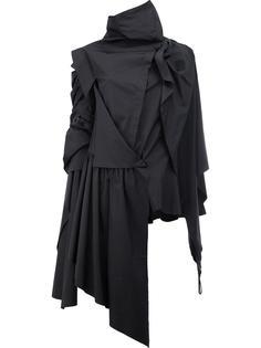 асимметричный укороченный пиджак Aganovich