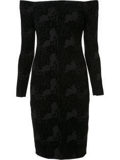 облегающее платье с открытыми плечами L'agence