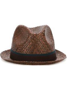 шляпа с контрастной лентой Paul Smith