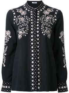 рубашка на пуговицах с вышивкой Vilshenko