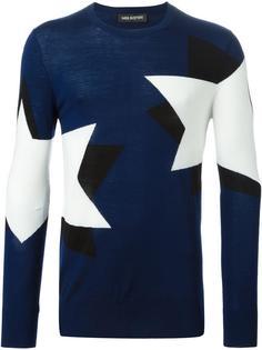 свитер 'Pop Art Star'  Neil Barrett