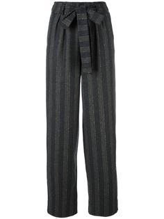 высокие брюки в полоску Roberto Collina