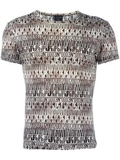 футболка с графическим принтом Jean Paul Gaultier Vintage