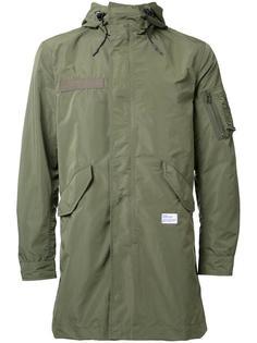 куртка на молнии с заплаткой с логотипом  Bedwin & The Heartbreakers
