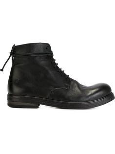 ботинки по щиколотку на шнуровке Marsèll