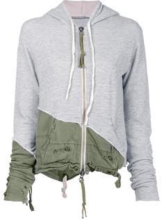 zipped hoodie Greg Lauren
