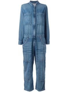 джинсовый комбинезон Current/Elliott