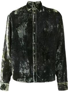 velvet shirt Y / Project