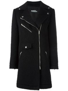 пальто со смещенной застежкой на молнию Jeremy Scott
