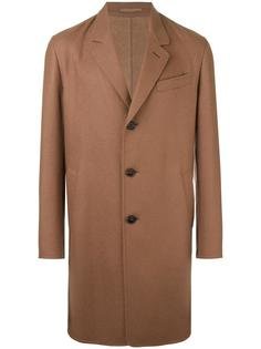 пальто с зазубренными лацканами Caruso