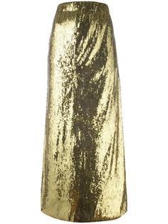 длинная юбка с пайетками Misbhv