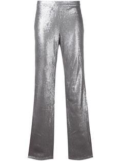 расклешенные брюки с пайетками Misbhv
