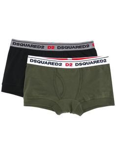 набор из трусов-боксеров с логотипами Dsquared2