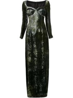 cut out corset dress Y / Project