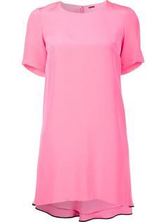 платье с короткими рукавами Adam Lippes