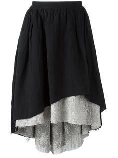 многослойная асимметричная юбка Aleksandr Manamïs