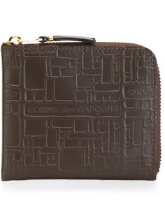кошелек с геометрическим узором  Comme Des Garçons Wallet