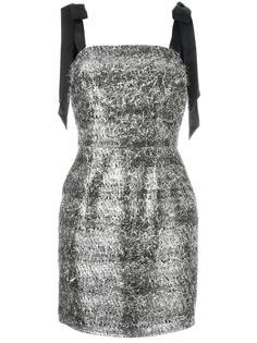 платье мини с блестками Rebecca Vallance