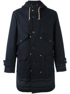 пальто с капюшоном Equipe '70