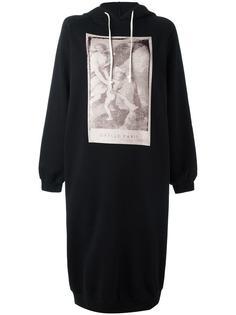 платье-толстовка с капюшоном и принтом Gaelle Bonheur