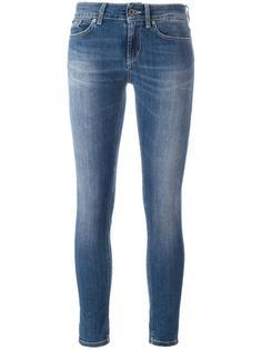укороченные джинсы кроя скинни Dondup
