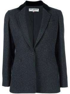 пиджак с бархатной отделкой Guy Laroche Vintage