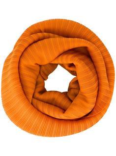 плиссированный шарф-снуд Pleats Please By Issey Miyake