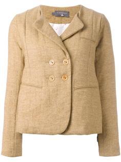 collarless buttoned blazer Cotélac