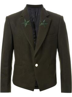 пиджак с вышивкой в виде звезд DressCamp